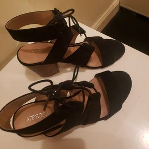 Merona lace up shoes sz 8